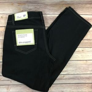 LOFT NWT Dark Wash Slim Cropped Petite Jeans